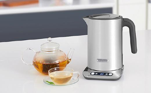 凯伍德双层防烫电水壶,水温可调的下午茶神器