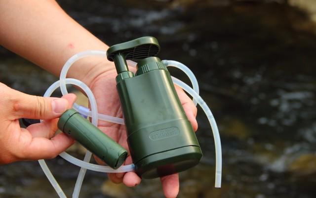 miniwell單兵戶外凈水器讓污水變凈水