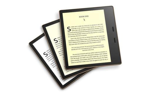 「新東西」亞馬遜上架第三代Kindle Oasis:新增暖光閱讀燈