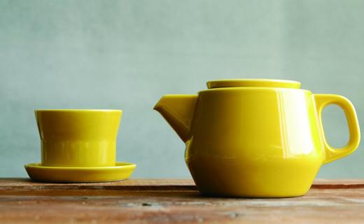 Kinto绿松石茶具套装:颜值高有设计感,兼具实用和观赏性
