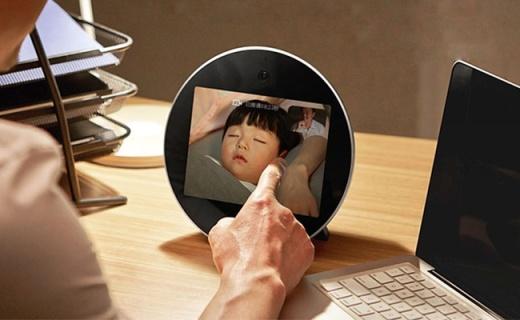 親見H1視頻電話座機:150度廣視角視頻通話,三麥克風通話清晰