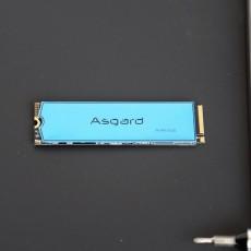 商務本也玩速度與激情,阿斯加特1T M.2固態硬盤