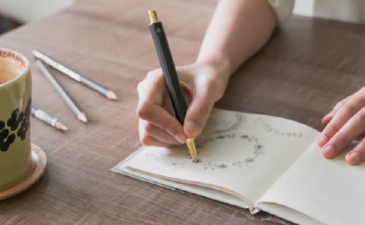 全金屬打造HMM自動鉛筆,低重心書寫更流暢