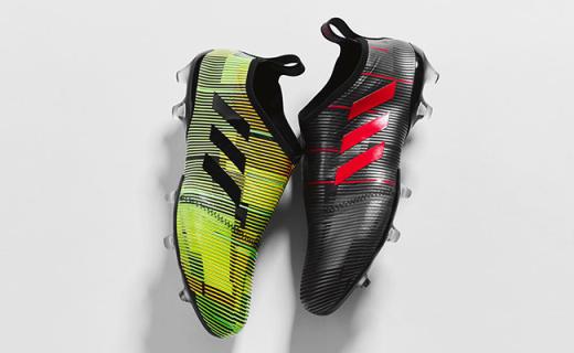 逆天一般的亮騷,阿迪推頂級概念足球鞋