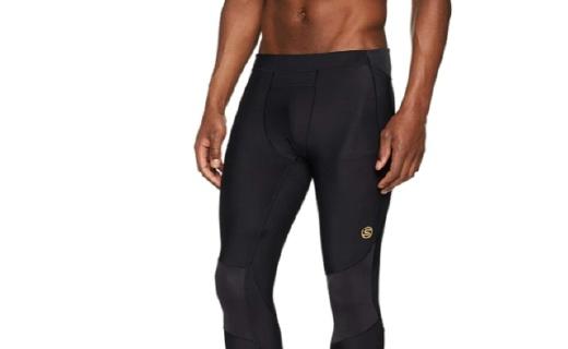 思金斯A400压缩裤:梯度减压跑步不酸痛,透气速干超强排汗