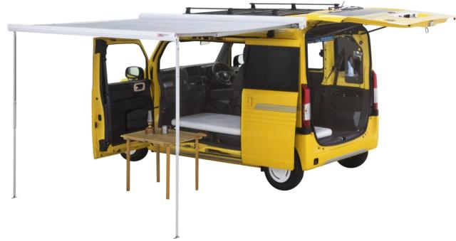 本田造「房车」!比五菱宏光还小,能做饭能睡觉,百公里油耗仅4L