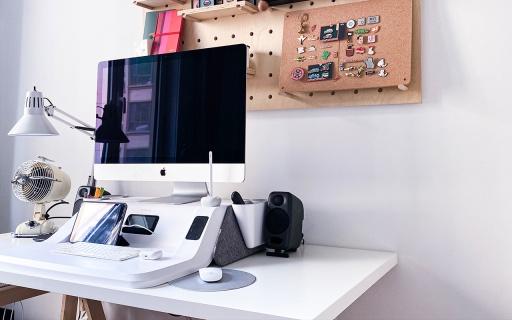 「体验」坐站智能记录,收纳简洁方便!这款工作站让你远离腰间盘突出!