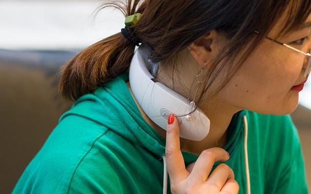 便攜頸部按摩神器,機械師音樂頸椎按摩器體驗