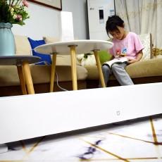 小米米家石墨烯踢腳線電暖器:制熱快、更安全