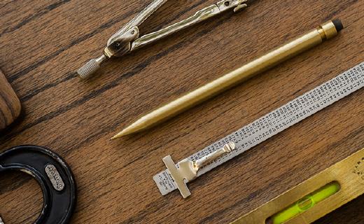 伴你一生的金屬自動鉛筆,用它書寫自帶逼格