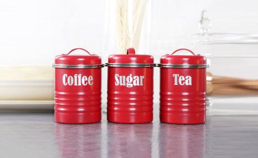 Typhoon儲存罐:優質鑄錫鐵材質,密封硅膠塞保持食物新鮮