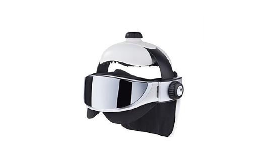 GESS 頭部眼部按摩器,像高科技戰士一樣享受spa