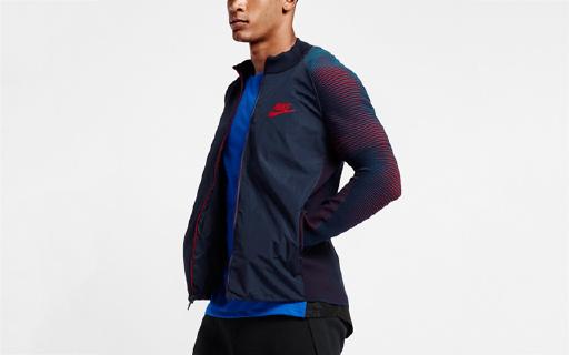 創新面料,耐克新款運動夾克讓你自由運動不束縛