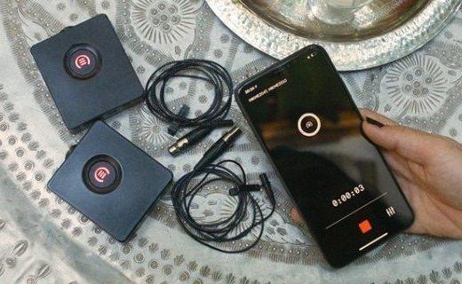 「新東西」Vlog錄音神器,Mikme推出手機用專業無線錄音機