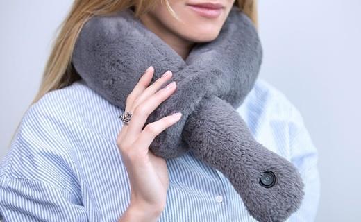 长途旅行必备神器!这个颈枕?#28304;?#21152;热功能还能自动按摩