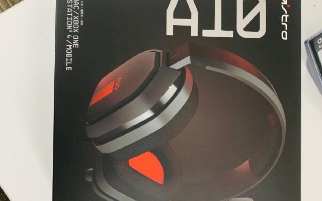 罗技 ASTRO A10电竞耳机  新品测评