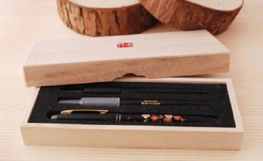 吴竹签字笔:日本匠心工艺技术设计,笔尖?#25913;?#31895;细合适