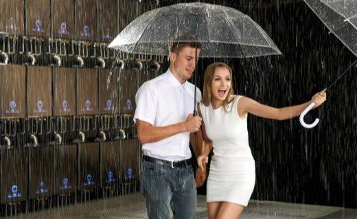 去約一場雨,卡薩帝瀑布洗熱水器制造了一場人工降雨!