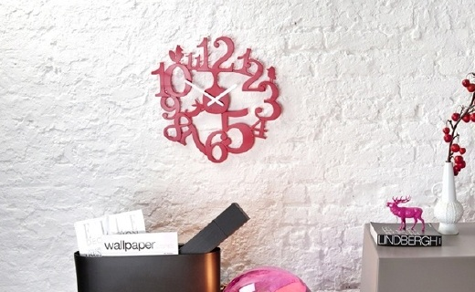 Koziol Pip創意掛鐘:簡約鏤空北歐風,裝點沉悶的家居環境