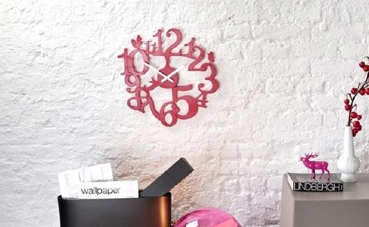 Koziol Pip创意挂钟:简约镂空北欧风,装点沉闷的家居环境