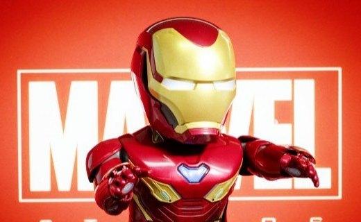 漫威首款钢铁侠机器人图赏:有颜有实力,谁能不爱它?