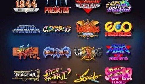 新东西 | 童年回忆!卡普空推出家用街机,囊括16款经典儿时游戏...