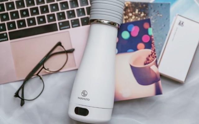 酒店水壺不干凈,旅行只能喝涼水?口袋電熱杯讓你放心喝熱水!