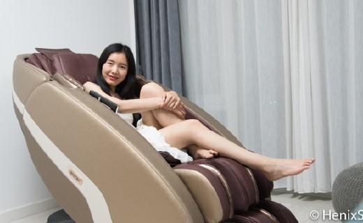 """京品評測丨根據體型打造放松方案的按摩椅,比人手還靈活,輕松在家""""大保健""""!"""