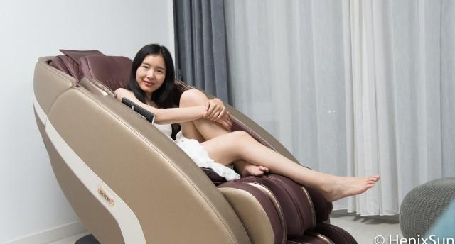 """京品评测丨根据体型打造放松方案的按摩椅,比人手还灵活,轻松在家""""大保健""""!"""