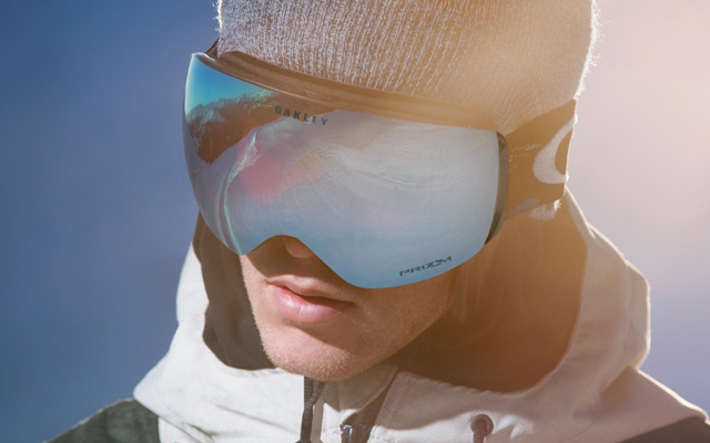 Oakley Flight Deck无边框滑雪镜