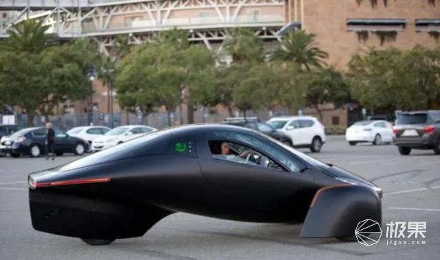 """""""永不充电""""的超级电动车!车轮仅三个,一脚油门跑1600公里…"""