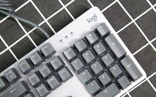 价格亲民 | 罗技K845背光机械键盘,指尖美物。