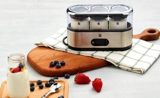福腾宝 yogert maker 酸奶机:不锈钢材质坚固耐用,自过热断电保护更安全
