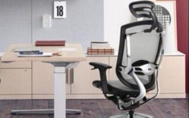 Ergoup人体工学电脑椅:人体工学设计久坐不累,透气背板干爽舒适