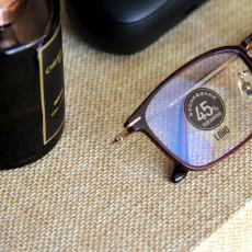 從現在開始防藍光,這款雙重阻隔技術的眼鏡,顏值還賊高!