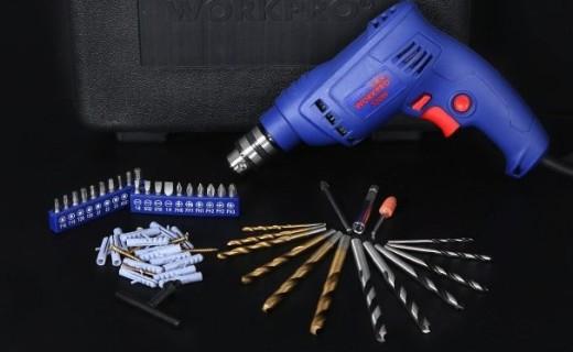 万克宝电动工具套装 :冲击钻组合套装,工具齐全修理不求人