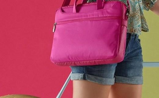托卡諾WO2-MB電腦包:尼龍材質舒適耐磨,純色搭配簡約時尚