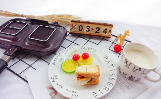 别再出去买早餐了,这样精致的早餐你?#37096;?#20197;做出来