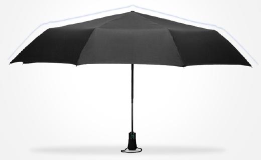 英國王室御用雨傘,大傘面遮三人還抗強風!