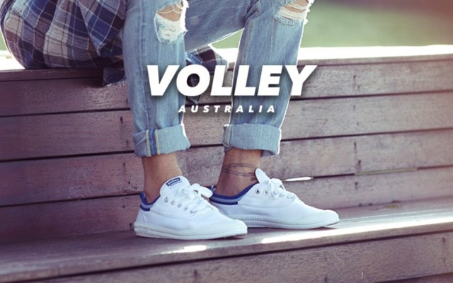 VOLLEY 澳大利亞國民小白鞋