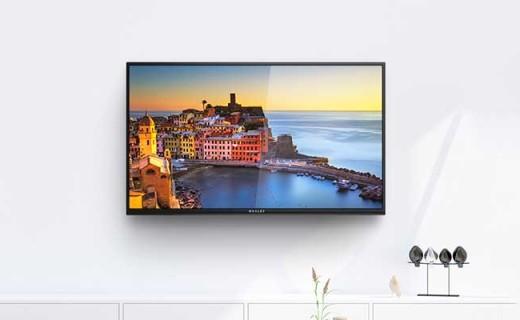 微鲸W32H智能电视:32吋高清屏幕,8G内存观影流畅