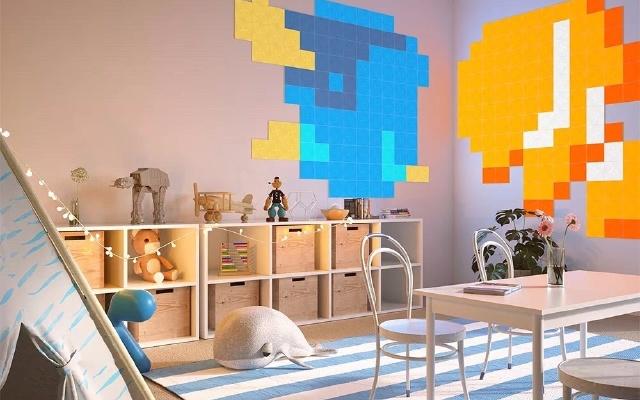 Nanoleaf智能方塊燈,兒童房有它秒變彩虹屋