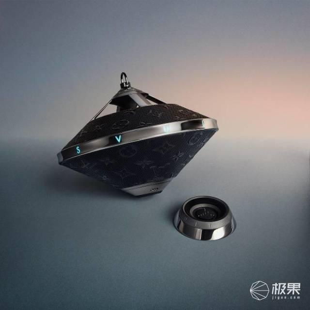 """LV竟然造了个土嗨电子""""陀螺""""!35颗LED很带感,售价2万"""