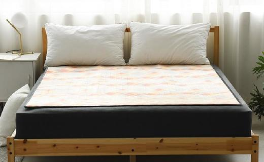 網易嚴選智能控溫電熱毯:8小時智能斷電,使用安全方便