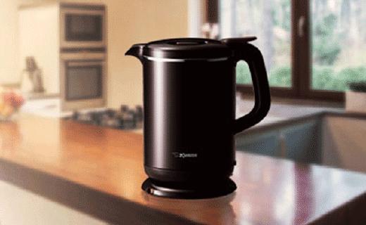 象印快熱智能保溫電水壺,傾倒還不會灑出來