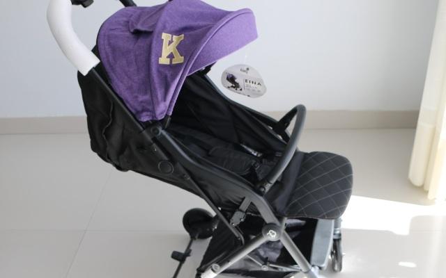 一鍵收合,寶寶行走的小床:kiwy嬰兒推車體驗