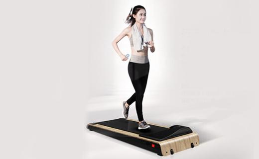 不占地的健步機,讓你爬著躺著蹲著都能運動
