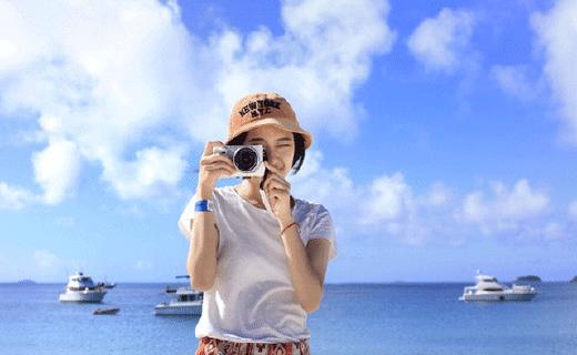美女澳洲實戰,8元自拍神器拍美圖,秒殺整個朋友圈