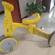 柒小佰儿童变形车三轮车