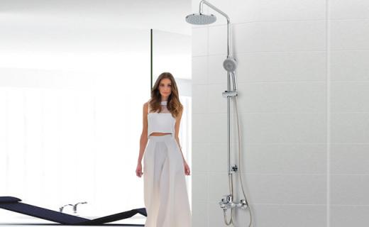 科勒花灑套裝:親氧科技舒適節水,淋浴比泡澡還享受